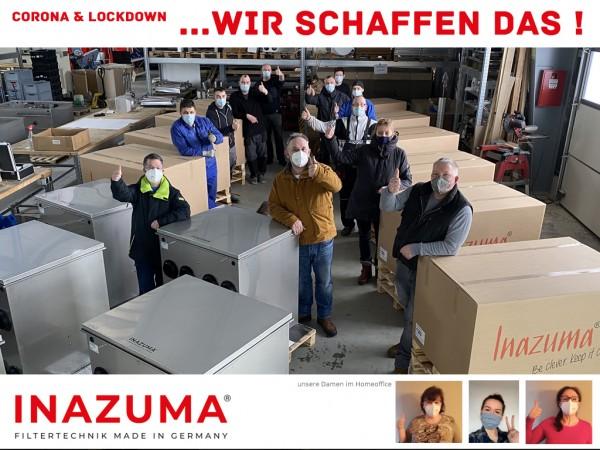 Inazuma-Filtertechnik-Teamfoto